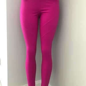 Zella Pink Yoga Tights Size Medium